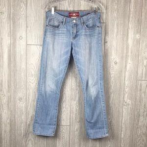 Lucky Brand Jeans Sienna Tomboy Crop Light Wash